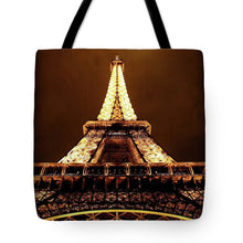 Load image into Gallery viewer, Eiffel Tower Glow - Tote Bag
