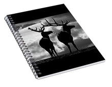 Load image into Gallery viewer, Elk Humor - Spiral Notebook