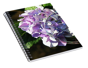 Hydrangea Bubble - Spiral Notebook