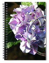 Load image into Gallery viewer, Hydrangea Bubble - Spiral Notebook