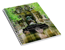 Load image into Gallery viewer, Medici Fountain, Paris - Spiral Notebook
