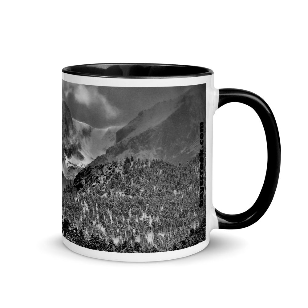 Mug Featuring Rocky Mountain National Park Views In The Snow