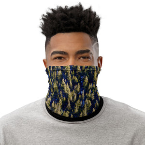 Neck Gaiter Evergreen Forest Scene