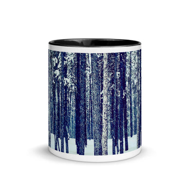 Woods In The Snow Mug