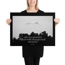 Load image into Gallery viewer, Poster - Unexpected Miracles Quote