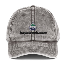 Load image into Gallery viewer, Vintage Cotton Twill Cap With Bay's Creek Logo & Text
