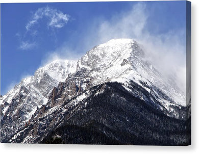 Mount Chapin Colorado - Canvas Print