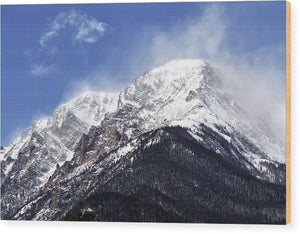 Mount Chapin Colorado - Wood Print