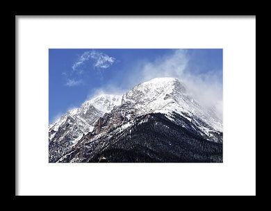 Mount Chapin Colorado - Framed Print