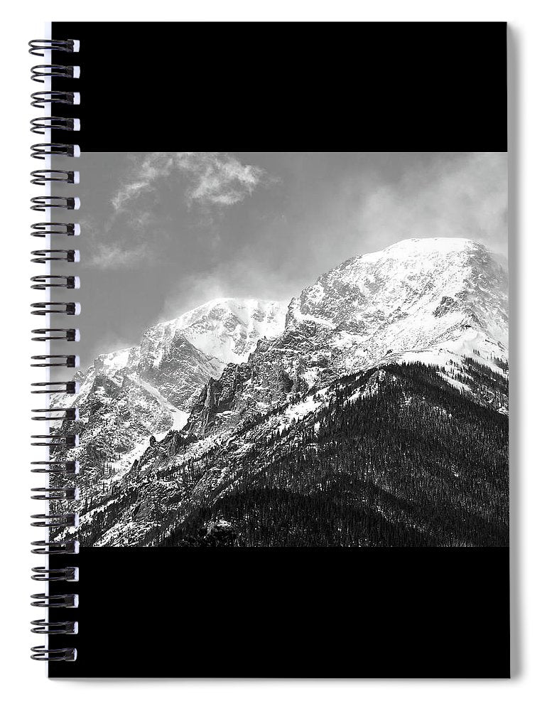 Mount Chapin RMNP - Spiral Notebook
