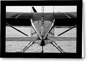 Sea Plane Alaska - Greeting Card
