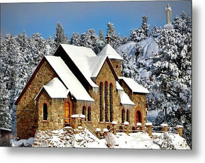 St. Catherines On The Rock - Metal Print