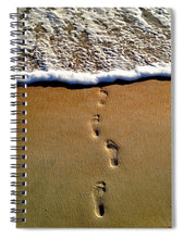 Load image into Gallery viewer, Steps To The Sea - Spiral Notebook
