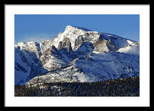 Load image into Gallery viewer, Taylor Peak And Sharkstooth, Rmnp - Framed Print
