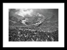 Load image into Gallery viewer, Winter View From Lumpy Range Trail - Framed Print