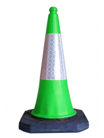 https://streetsolutionsuk.com/collections/coloured-traffic-cones/products/green-starlite-750mm-two-piece-road-cone