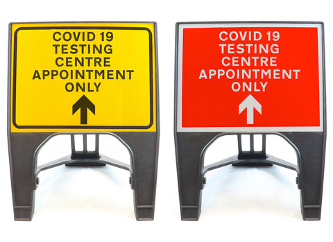 covid-19-test-testing-centre-site-sign-signage-signs-temporary-street-road-appointment-forward
