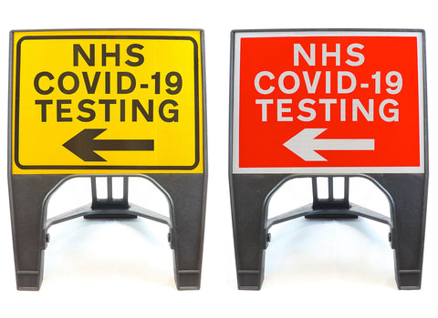 covid-19-test-testing-centre-site-sign-signage-signs-temporary-street-road-left-nhs
