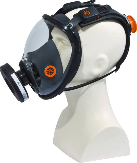 Delta Plus Respiratory Full Face Mask - Rotor® Adjustment