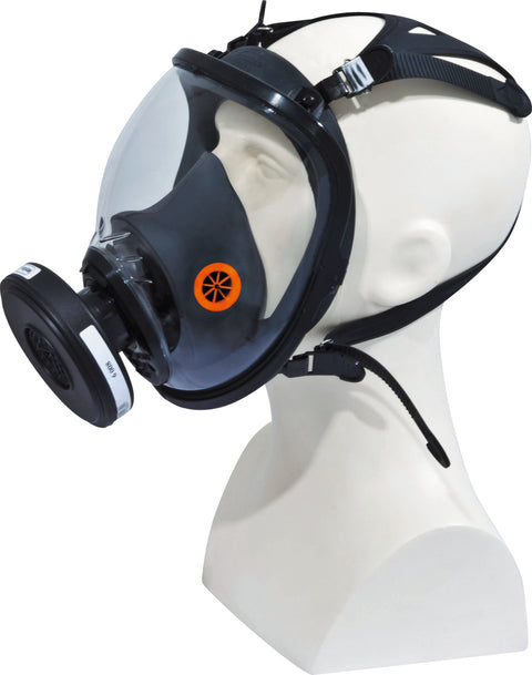 Delta Plus Respiratory Full Face Mask - Strap Adjustment