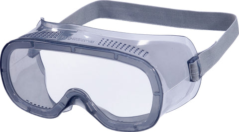Delta Plus Clear Safety Goggles - Direct Ventilation - 10 x Pairs