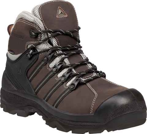 Delta Plus NOMAD S3 SRC Waterproof Buffalo Leather Safety Work Boots - Brown