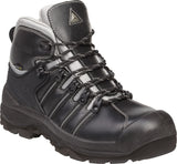 Delta Plus NOMAD S3 SRC Waterproof Buffalo Leather Safety Work Boots - Black