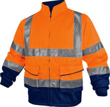 Delta Plus PHVES High Visibility Working Jacket Cotton Polyester