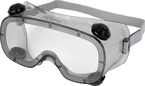 Delta Plus Clear Safety Goggles - Indirect Ventilation - 10 x Pairs