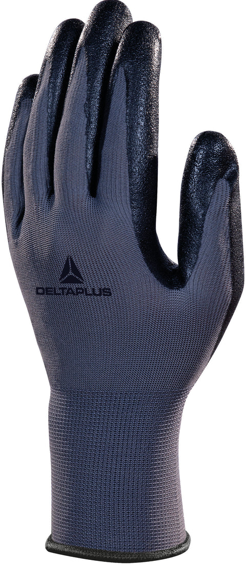 Delta Plus VE722 Foam Coated Light Work Safety Gloves - 12 x Pairs