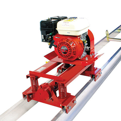 Fairport - Double Beam Super Screeder Petrol Honda GX160 (Multiple Beam Lengths)