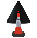 ICE 750mm Triangle Hangman Sign (Single Cone) 554.2