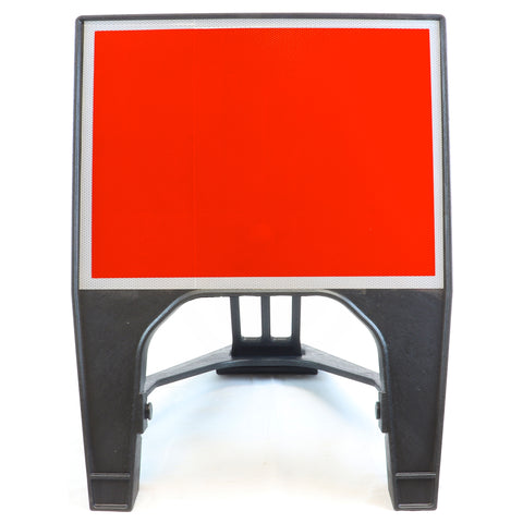 Blank Red 600x450mm Road Sign