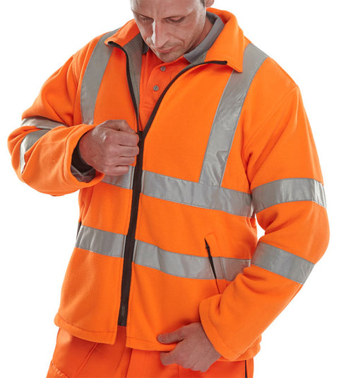 Beeseen Hi-Vis Cold Weather Fleece Orange