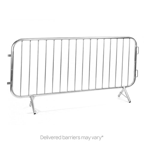 10 x 2.3m Crowd Control Barrier Fixed Leg