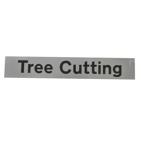Tree Cutting Supplementary Plate - Q-Sign