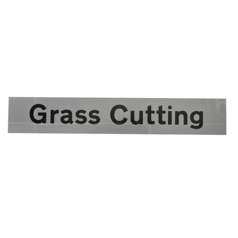 Grass Cutting Supplementary Plate - Q-Sign