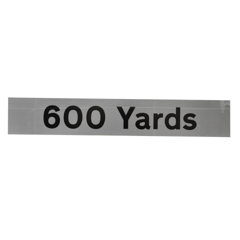 600 Yards Supplementary Plate - Q-Sign