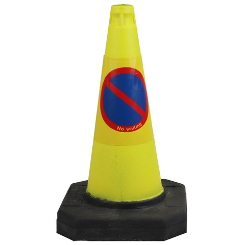 No waiting traffic cone