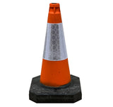6 x 500mm Road Traffic Cones Bundle