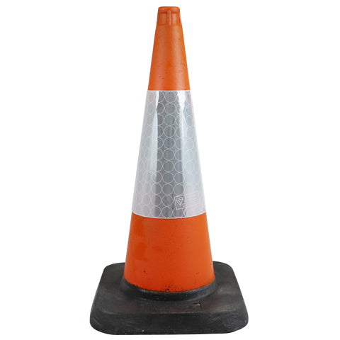 75cm 1-Piece Road Traffic Cone Street Solutions