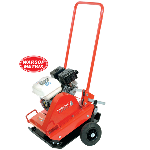 "Fairport PP193 Plate Compactor with Wheels (18"" Wide)"