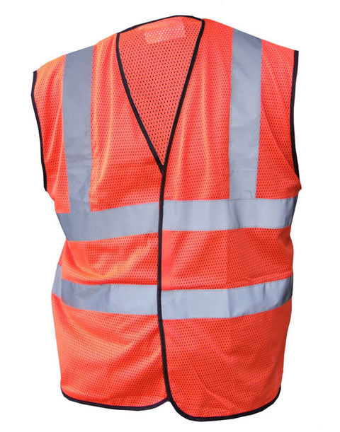 Hi-Vis Mesh Vest Orange