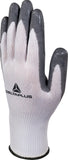 Delta Plus VV722 Safety Gloves White / Grey High-Tech Soft & Foam Nitrile (Multiple Sizes)