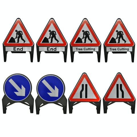 Traffic Management Signs Kit - Tree Cutting