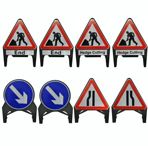 Traffic Management Signs Kit - Hedge Cutting