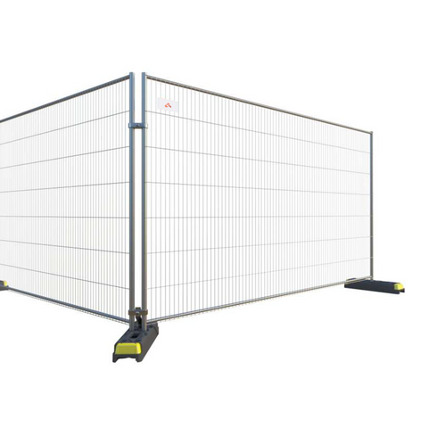 10 x Anti-Climb Temporary Fencing Panels