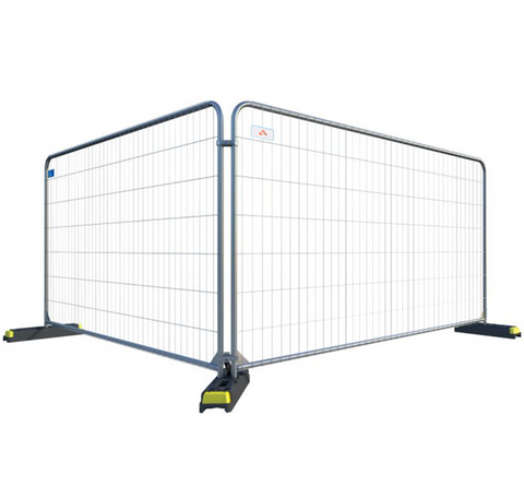 10 x Round Top Temporary Fencing Panels