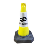 Yellow 500mm Wedding Cone