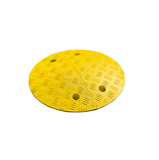 Circle Speed Bump 75mm in Yellow.